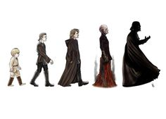 Darthwinism. The evolution of a sith lord.