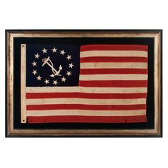 13 star Private Yacht Ensign flag 1890-1920 American