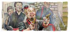 Big Trouble in Little China - Golden Guns Print https://www.etsy.com/listing/249265011/big-trouble-in-little-china-golden-guns