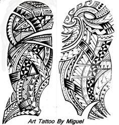 Polynesian, Samoan, Maori, Tribal Tattoo - I want Tattoo