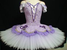 Japanese purple tutu www.theworlddances.com/ #costumes #tutu #dance