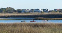 There is nothing like getting out on the water and exploring the tidal creeks, Intracoastal and marsh by kayak.