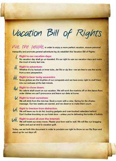 Orbitz Vacation Bill of Rights