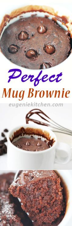 Delicious brownie in 5 minutes with 5 ingredients. Instant brownie. Perfect texture. It tastes great. Did I say perfect brownie in mug?