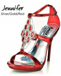 My style all in one Jennifer 3 inch Heels by Sweetie s Shoe If I get a red dress Or bkack 3244 |Red Heels|