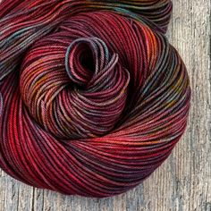 4 available ~This is a one-of-a-kind colorway that can't be reproduced. Please be sure to buy all that you'll need to finish your project. These are VERY dark red, and they were difficu...