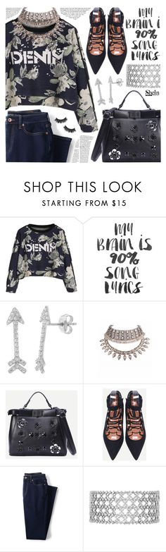 """""""Cool sweatshirt"""" by pastelneon ❤ liked on Polyvore featuring Pori and Lands' End"""