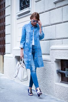 justthedesign:   Denim On Denim Outfits: Veronica... Fashion Tumblr | Street Wear, & Outfits