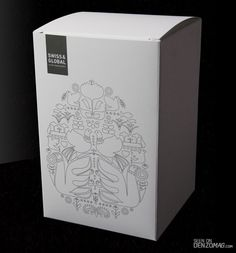 Stylish White Package Design