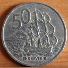 Endeavour (Round) Old Coins, Rare Coins, Australian Money, Valuable Coins, Welcome To My Page, Old Money, Kiwiana, Money Matters, My Memory