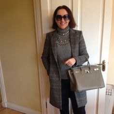 Yesterday's meeting at the hospital 👜 by Linda Personal Taste, March 2014, Hermes Birkin, Coats, Outfits, Style, Fashion, Swag, Moda