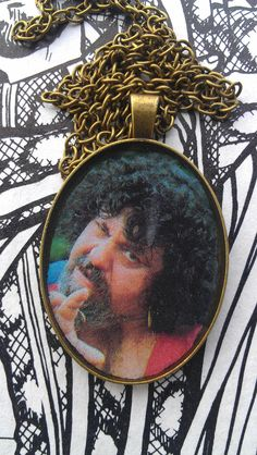 Captain Lou Albano Wrestling Necklace. $26.00, via Etsy.