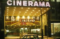 Rotterdam, Cinerama, tijdens reissue THIS IS CINERAMA, 1970 (foto George Schuller)