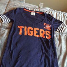 Victoria's Secret PINK, Detroit Tigers shirt Victoria's Secret PINK, Detroit Tigers shirt. Worn once. Size small. PINK Victoria's Secret Tops Tees - Short Sleeve