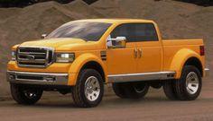 ford tonka truck | Pat Schiavone, Ford's truck designer, says the Tonka concept, shown ...