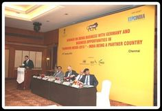 10. Mr. RobinFernandes, Hannover Milano fairs making Presentation on Hannover Messe 2015 - Advantage as Partner Country
