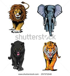 Cartoon panther Stock Photos, Images, & Pictures | Shutterstock