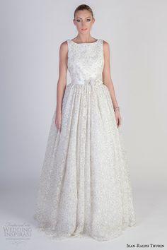 Jean-Ralph Thurin #Bridal Spring 2016 #Wedding Dresses | Wedding Inspirasi #weddings #weddinggown #weddingdress