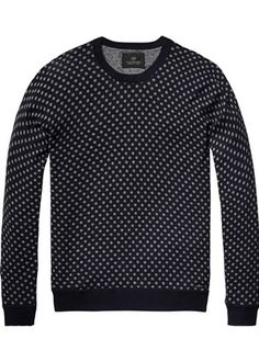 Buy Scotch & Soda Crewneck Pull in Cotton Melange. Free UK Delivery available on all purchases at Dapper Street. Scotch Soda, Pullover, Dapper, Men Sweater, Crew Neck, Couture, Sweaters, Cotton, Clothes