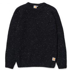 CARHARTT Anglistic Sweater pull-over homme 89,00 € #skate #skateboard #skateboarding #streetshop #skateshop @playskateshop