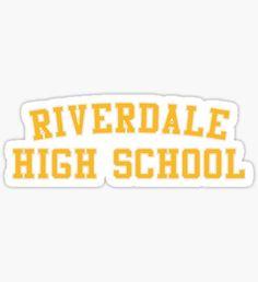 Riverdale High Pegatina