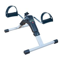 Pedal Exerciser with Digital Display - £24.99  This portable upper and lower body, pedal exerciser is a superb accessory to get the blood flowing through the upper and lower body and to stay active without the impact problem.