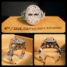 thediamond studio diamondboi Vintage Engagement Rings