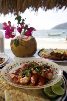 Gastronomía Marina. Acapulco, Guerrero.
