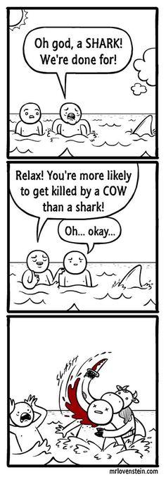 Oh No, It's A Shark
