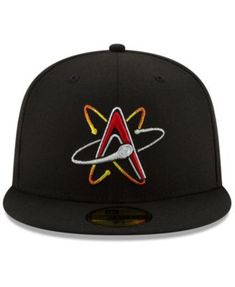 d98aa23e2e712 Albuquerque Isotopes League Patch 59FIFTY-FITTED Cap