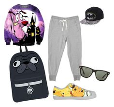 """""""Tom inspirded"""" by holaaitzerin ❤ liked on Polyvore featuring Ray-Ban"""