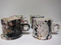 Peter Shire mugs