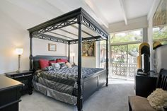 Paradise Palms Apartments | Phoenix, Master bedroom with patio access