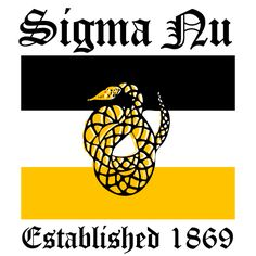 Sigma Nu, Bid Day, Fraternity, T-Shirt. All designs can be customized for your organization or chapter needs! Get your streak on!