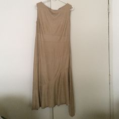Spotted while shopping on Poshmark: Max studio light weight sz.12 beige/camel dress! #poshmark #fashion #shopping #style #Max Studio #Dresses & Skirts