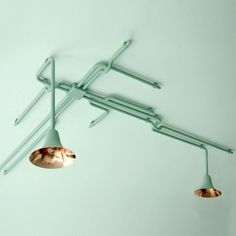 branching ceiling light by Dutch designers Ontwerpduo