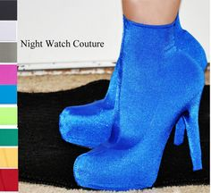 Ankle Length Stretch Boot Covers for heels by NightWatchCouture, $21.53
