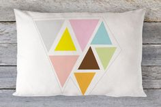 Pillow cover Toddler Pillow  Toddler Pillowcase  Bed by tinytweets