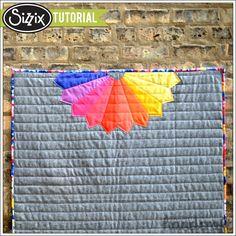 Sizzix Tutorial | Half Dresden Baby Quilt by Nicole Daksiewicz