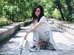 Hilamee: Retro Geometric Colorful Translucent Hexagon Sunglasses A248