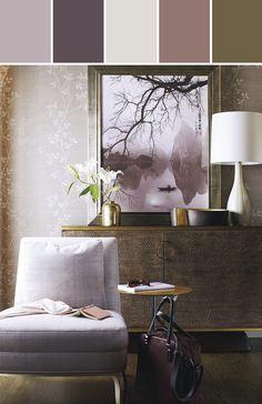 The Art Deco home decor guide-barbara-barry Baker Furniture, Large Furniture, Furniture Design, Furniture Showroom, Luxury Furniture, Color Mauve, Living Room Decor, Living Spaces, Living Rooms