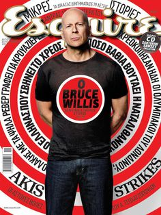 Esquire Greece feat. Bruce Willis