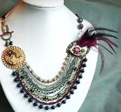 Bohemian Temptress - Vintage Art Deco Couture...