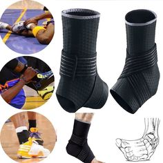 Breathable Wrap Sports Injury Ankle Brace Support Guard Basketball Protector SFC | Health & Beauty, Medical, Mobility & Disability, Orthopedics & Supports | eBay!