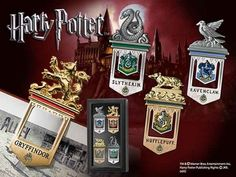 Segnalibri con le case di Hogwarts
