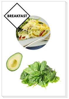 """Elle """"The Body"""" Macpherson's nutritionist shares what a typical day of alkaline diet eating looks like for her client. Breakfast: Egg omelette, heaps of spinach, avocado. This kind of breakfast is usually reserved for a day when Macpherson has a packed schedule and can't stop for lunch at the usual time. Another favorite: flaxseed pudding made with almond milk and berries."""