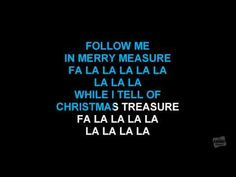 Deck The Halls in the style of Traditional karaoke video with lyrics - YouTube