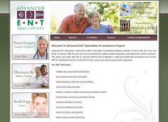 91 Best Otolaryngology Ent Website Designs 888 566 4431 Images On