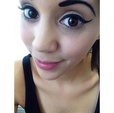 double-nose-stud | Tumblr Double Nostril Piercing, Cool Tattoos, Tatoos, Nose Piercings, Nose Stud, Nose Art, Piercing Ideas, Beauty Makeup