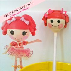 Lalaloopsy Cake Pops | Raleigh Cake Pops